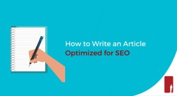 How to Write an Article Optimized for SEO